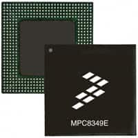 MPC8349ZUAJF 相关电子元件型号